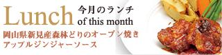 岡山県新見産森林鶏のオーブン焼き アップルジンジャーソース